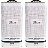 Aceite de Oliva Virgen Extra Gourmet. AOVE picual media maduración Selección - Selma Millenary Olive Oil - Lata 5 l.