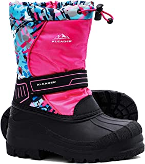 Sponsored Ad - ALEADER Kids Snow Boots Insulated Watetproof Boys Girls Winter Boots(Little Kid/Big Kid)