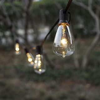 outdoor balcony string lights