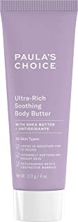 Paula's Choice CLINICAL Ultra-Rich Soothing Body Butter with Vitamin C & E, Shea Butter & Squalane, Sensitive, Dry Skin, 4 Ounce