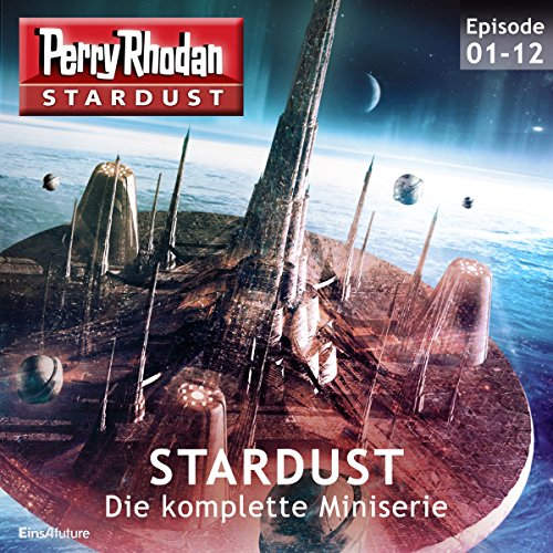Perry Rhodan Stardust audiobook cover art