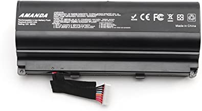 Amanda A42N1403 Battery 15V 88WH Replacement for ASUS ROG GFX71JY 17.3 inch GFX71JY4710 G751 G751J G751JM G751J-BHI7T25 Series A42LM93 0b110-00290000 4ICR19/66-2