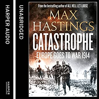 Catastrophe: Volume One: Europe Goes to War 1914 cover art