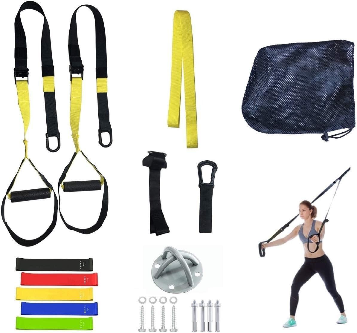 grasep correas Fitness – Anillas de gimnasia gimnasio anillos soporte de pared