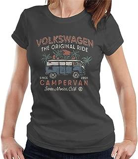 Volkswagen The Original Ride Campervan Women's T-Shirt