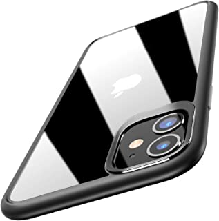 TOZO for iPhone 11 Case 6.1 Inch (2019) Hybrid Soft Grip Matte Finish Clear Back Panel Ultra-Thin [Slim Thin Fit] Cover fo...