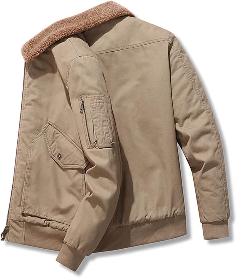 Special price Men Winter Jacket Sale SALE% OFF Thick Fleece Corduroy Oouterwear Warm Keep