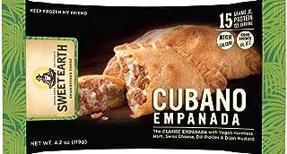 Sweet Earth Vegetarian Cubano Empanada 4.2 ounce (Pack of 10)