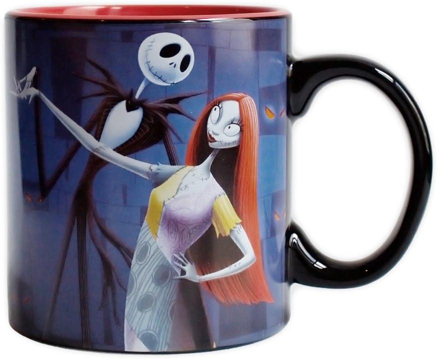 The Nightmare Before Christmas Sally Head 20 oz Sculpted Ceramic Mug NEW UNUSED