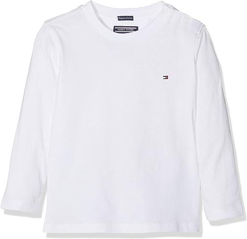 Tommy Hilfiger Basic CN Knit L/S T-Shirt Garçon