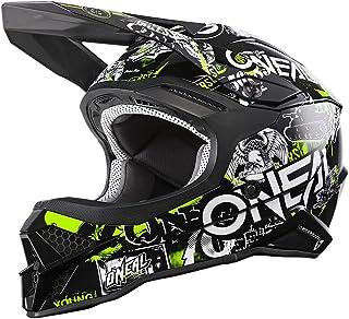 """O""""NEAL   Motocross-Helm   Motocross, Enduro   Sicherheitsnorm ECE 22.05, ABS Schale, Lüftungsöffnungen für optimale Belüftung & Kühlung   3SRS Helmet Attack 2.0   Erwachsene   Schwarz Gelb   Größe L"""
