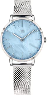 Tommy Hilfiger Silver Mesh Ladies Watch - 1782041