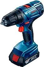 Bosch Professional 06019F8000 Bosch GSR 140-Li 2X1.5Ah 06019F8000-Taladro Atornillador a batería