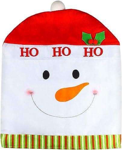 lowest Larcele Chair wholesale Covers Cute Style sale for Christmas Decorations SDYZT-01 (Snowman) online