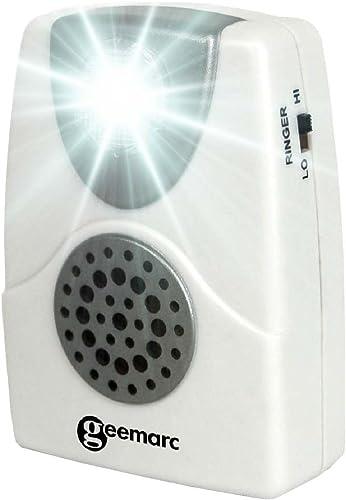 Geemarc CL11 Amplificateur de sonnerie de téléphone blanc