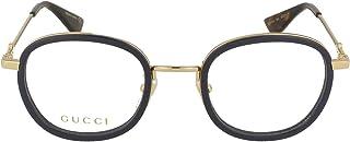 52107683ede Gucci frame (GG-0111-O 004) Acetate - Metal Dark Blue -