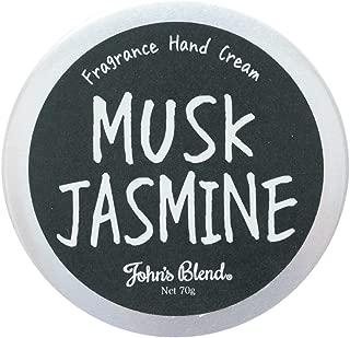 ノルコーポレーション John's Blend ハンドクリーム 保湿成分配合 OZ-JOD-1-4 ムスクジャスミンの香り 70g