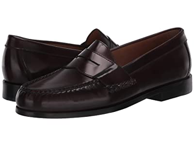 Johnston & Murphy Hayes Penny Loafer (Burgundy) Men