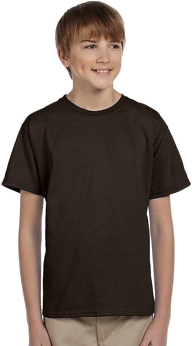 FoMann Children Cotton T-Shirts Boys Girls Tees 4 Pack Youth Kids Top