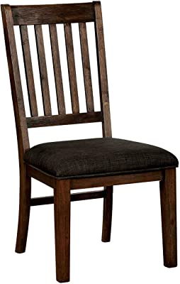 Furniture Of America Harcourt Dining Chair Brown Chairs