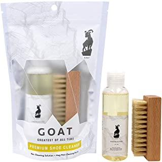Premium Shoe Cleaner Kit Brush and Solution - Sneaker Cleaner Kit Leather, Suede, Canvas, White Sneakers and More