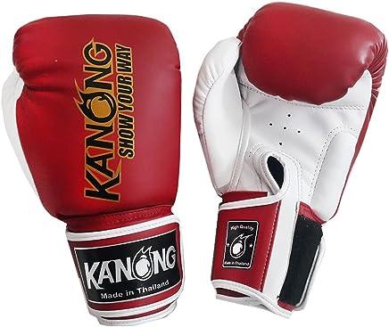 Kanong Muay Thai Kick Boxen Kids Boxhandschuhe   KN-Kids-Boxhandschuhe-Rot-4 Oz. B079YWLTYY   | Online Store