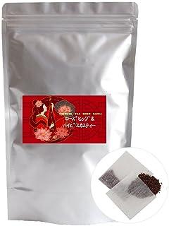 ローズヒップ&ハイビスカスティー ティーバッグ60包 ブレンド茶 ノンカフェイン ハーブティー アイスティー 水出し