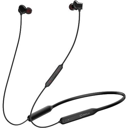 (Renewed) OnePlus Bullets Wireless Z in-Ear Bluetooth Earphones with Mic (Black)