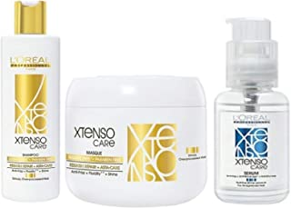 Xtenso Lr Sulfate-Free Care Shampoo, 250 ml and Masque, 198 g and Serum, 50 ml