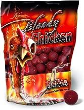 Quantum Radical Boilie Bloody Chicken Bouillettes arôme poulet Rouge/marron 1 kg