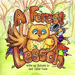 A Forest Lesson (Sidney the Bear Book 3) by [Janet Tlachac-Toonen]