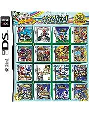 Carta di gioco 482 in 1 DS gioco pacchetto combinato NDS gioco,Per DS NDS NDSL NDSi 3DS XL Nuovo