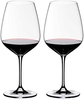 Riedel Heart to Heart Cabernet Sauvignon Glasses, Set of 2