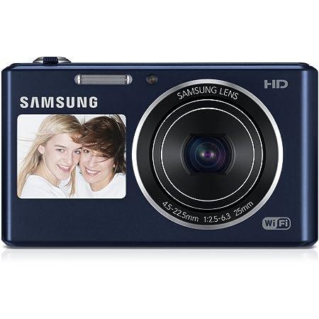 Samsung Dv150f Smart Digitalkamera 2 7 Zoll Kobalt Kamera