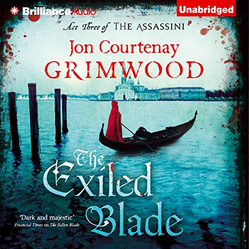 The Exiled Blade audiobook cover art