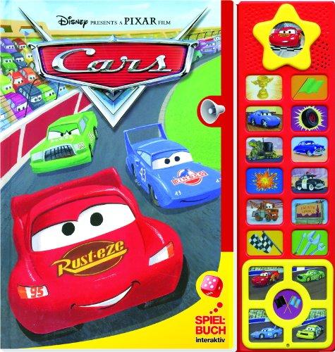 Disney PIXAR Cars - Spielbuch, Interaktiv, Buch mit Brettspiel und Klangleiste