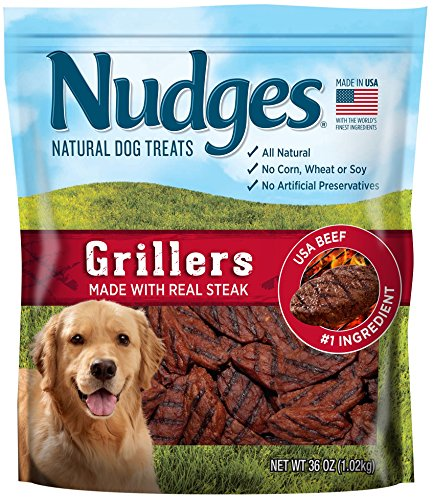 Nudges Steak Grillers Dog Treats 36 oz