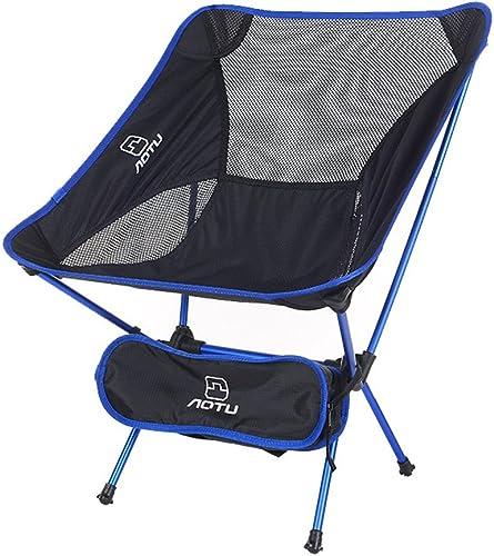 CUI XIA UK Camping chair Chaise Pliante en Plein air Chaise lutile Ultra-légère en Aluminium Tabouret de pêche en Alliage d'aluminium