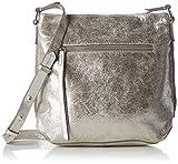 Clarks Damen Topsham Jewel Leder, Silber (Silver Leather), 10x25x31 cm (B x H x T)
