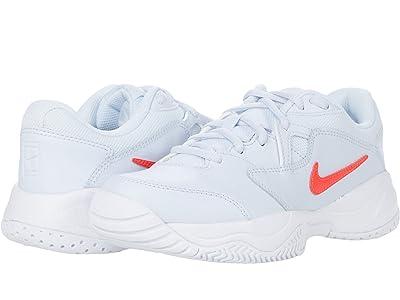 Nike Kids Court Jr. Lite 2 Tennis (Little Kid/Big Kid) Kid