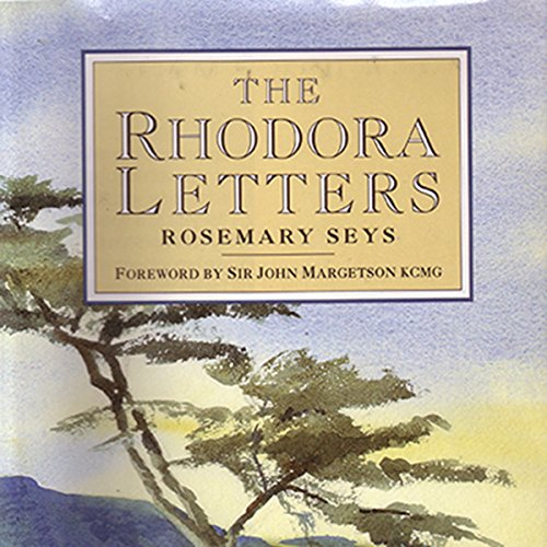 The Rhodora Letters audiobook cover art