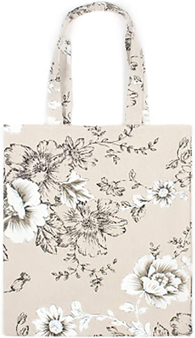 Tote Shoulder Bag Recycle Womens Handbags Print Linen Tote Bag Shoulder Bag Travel Handbag for Women