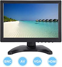 "fosa 10.1"" Computer Monitor LCD Screen 19201200 16:10 Full HD Display HDMI/VGA/AV/BNC Input Gaming Monitor with HDMI Cable and Monitor Bracket(Us Plug)"
