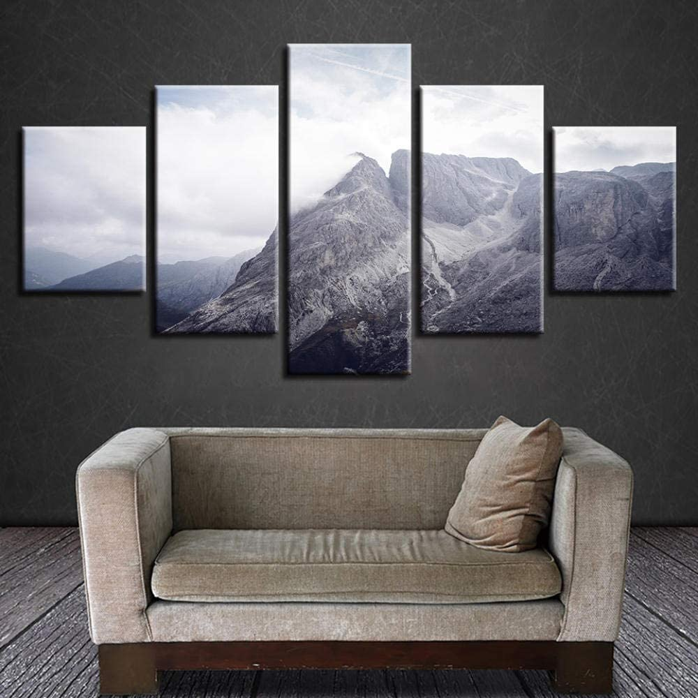 QMCVCDD Canvas low-pricing Prints 5 Indianapolis Mall Piece Be Picture Canvases Artwork
