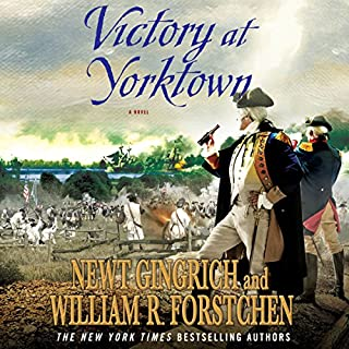 Victory at Yorktown audiobook cover art