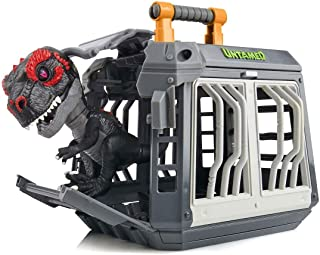 Untamed New and Exclusive Jailbreak Playset with Exclusive T-Rex Dinosaur Infrared