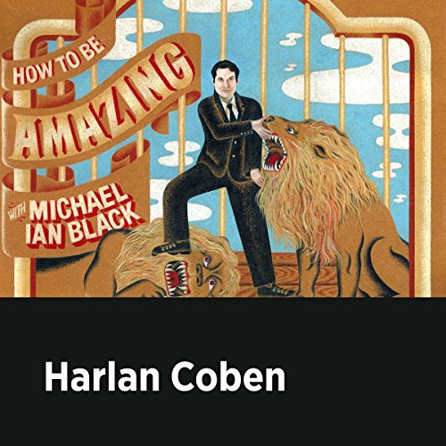 Harlan Coben audiobook cover art