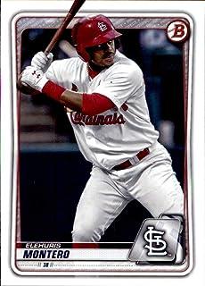 2020 Bowman Prospects #BP-32 Elehuris Montero St. Louis Cardinals RC Rookie MLB Baseball Trading Card