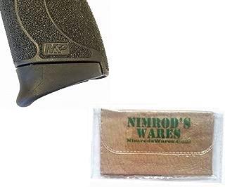 Nimrod's Wares Pearce Grip S&W M&P Shield 45 .45ACP Extension PG-MPS45 Microfiber Cloth