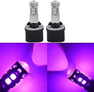 2X 880 899 14000K Purple 50W LED Headlight Bulbs Kit Fog Driving Light
